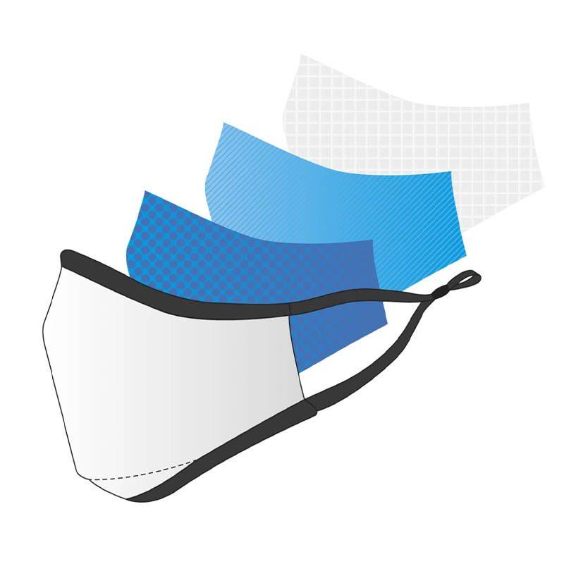Conception masques en tissu avec filtres KN95 nanofibres
