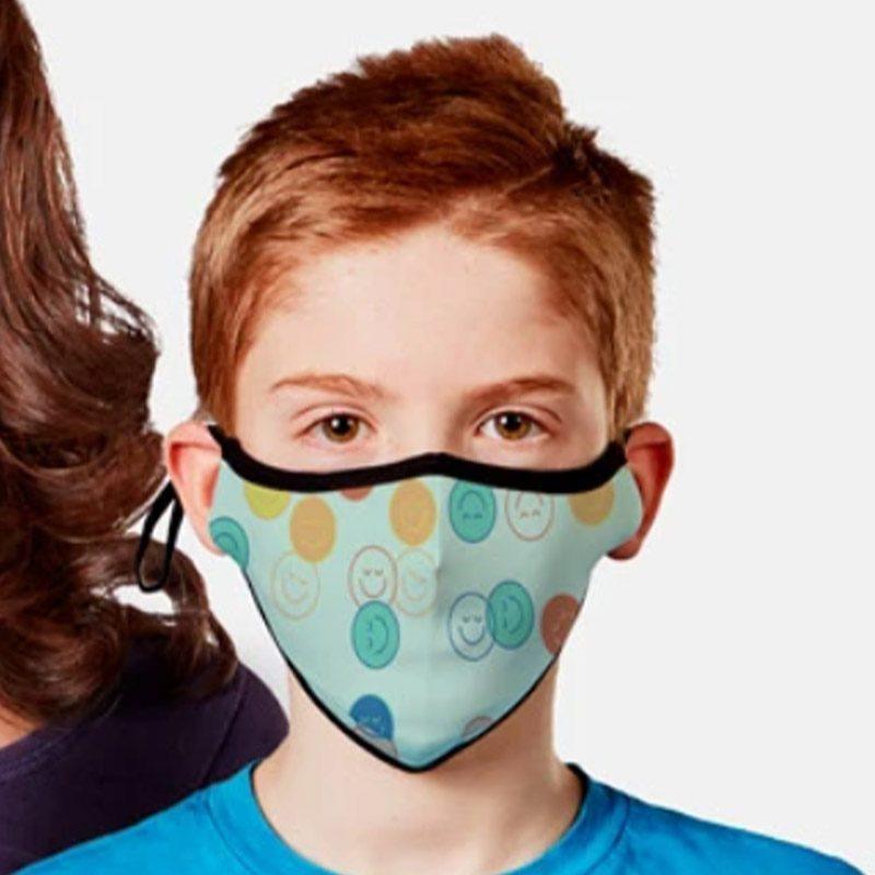 Masques en tissu pour enfant avec filtres nanofibres